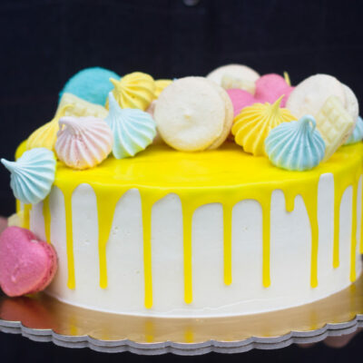 Narozeninový dort pro slečnu Pusinka (2 kg, 1450 kč)
