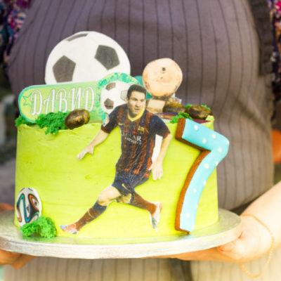 Dort na narozeniny pro kluka Fotbal 2 (2 kg, 1450 kč)