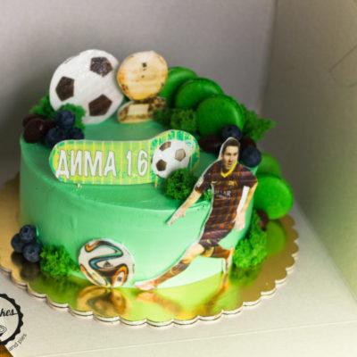 Dětský dort pro kluka Fotbal 3 (2 kg, 1450 kč)