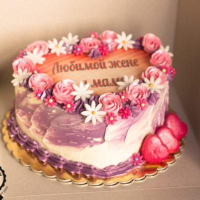 Narozeninový dort pro slečnu Love (3 kg, 1950 kč)