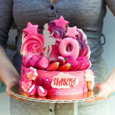 Narozeninový dort pro slečnu Mažoretka