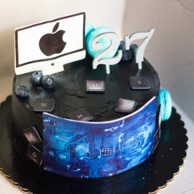 Narozeninový dort pro muže IT 2 (2 kg, 1450 kč)