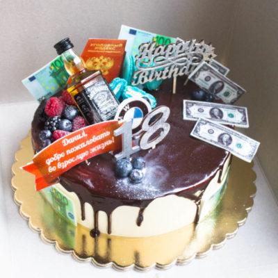 Narozeninový dort pro muže 18 (3)