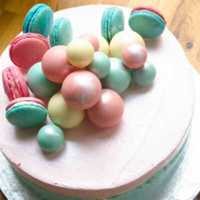 Dětský narozeninový dort Baby Reveal 2 (3 kg 1950 kč)