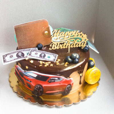 Narozeninový dort pro muže Business 3 (2 kg 1450 kč)