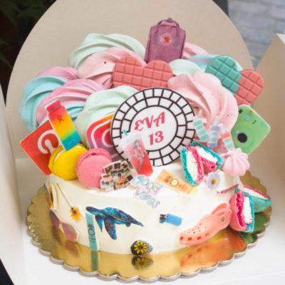 Narozeninový dort pro slečnu VSCO