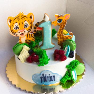 Dětský dort pro kluka Adrian (2 kg 1450 kč)