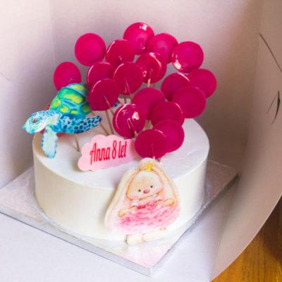 Dětský narozeninový dort na zákazku Bunny (3 kg 1950 kč)
