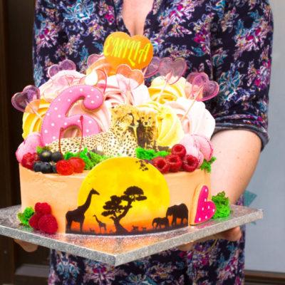 Dětský narozeninový dort Savannah (3 kg 1950 kč)