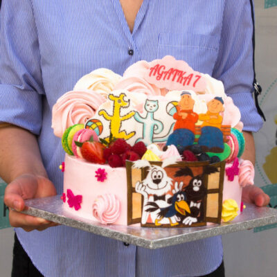 Dětský dort na narozeniny Pat a Mat (3 kg, 1950 kč)
