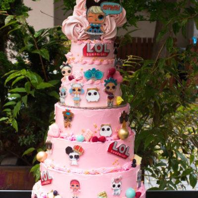 Dětský dort na objednávku LOL 31