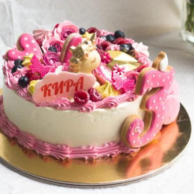 Narozeninový dort pro slečnu Čokoládový jednorožec 5 (2,5 kg, 1700 kč)