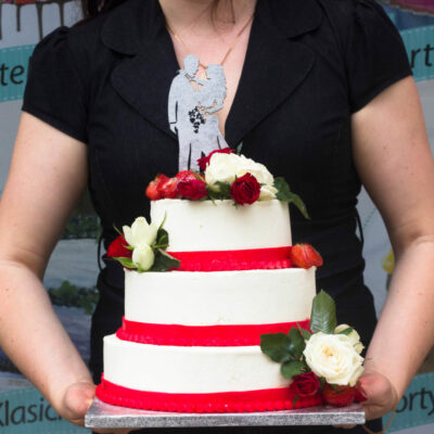 Svatební dort na objednávku Luxusní 2 (8 kg, 4800 kč)