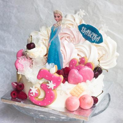 Dětský dort na objednávku Frozen 17