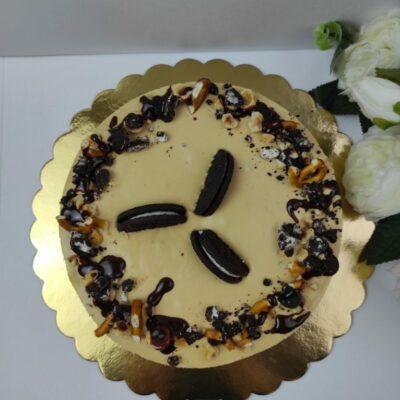 Karamelový cheesecake Oreo