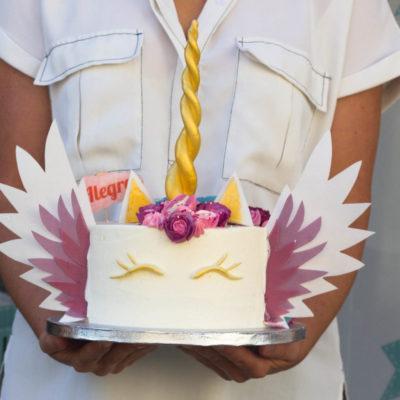Dětský narozeninový dort Jednorožec 19 (2 kg 1450 kč)