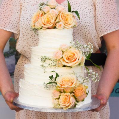 Svatební dort Romance 4 (8 kg, 4800 kč)