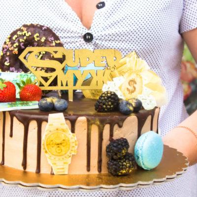 Narozeninový dort pro muže Super (2 kg, 1450 kč)