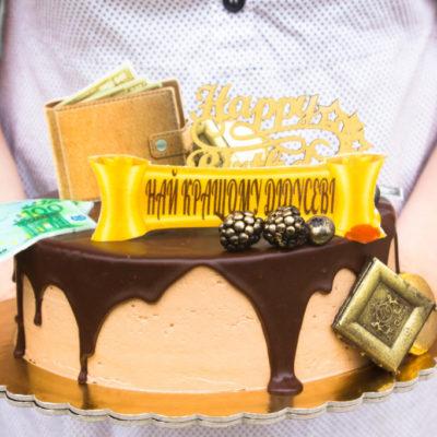 Narozeninový dort pro muže Super 2 (2 kg, 1450 kč)