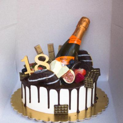 Narozeninový dort pro slečnu Prosecco (2 kg, 1450 kč)