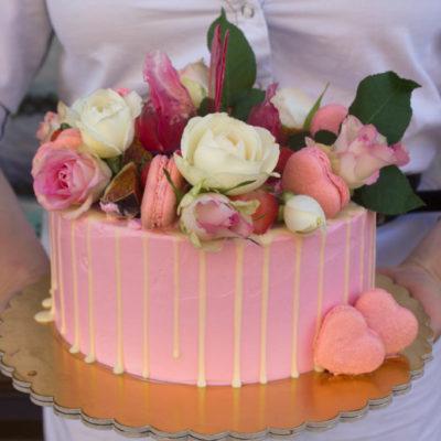 Narozeninový dort pro slečnu Love 3 (2 kg, 1450 kč)
