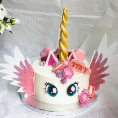 Dětský narozeninový dort Jednorožec 20 (2 kg  1450 kč)