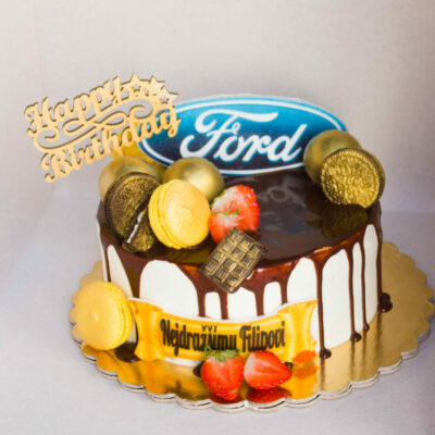Narozeninový dort pro muže Ford (2 kg, 1450 kč)