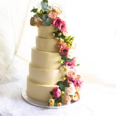 Svatební dort objednávku Elegance 3 (Cena na dotaz)