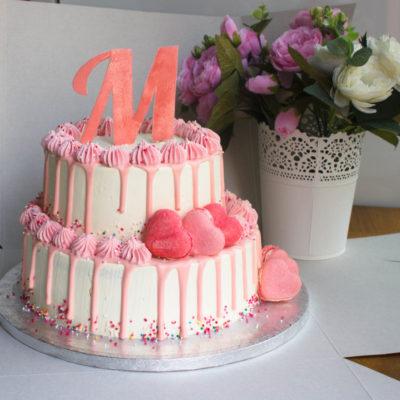 Narozeninový dort pro slečnu M (4 kg, 2500 kč)