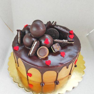 Narozeninový dort pro muže Super 4 (2 kg, 1450 kč)