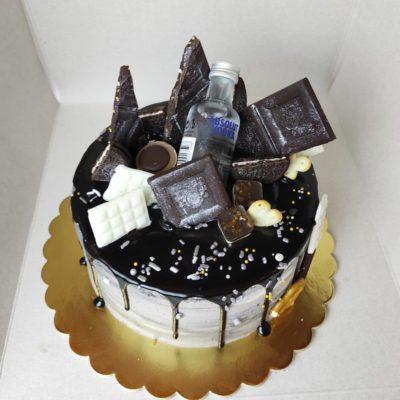 Narozeninový dort pro muže Elegance 4 (2 kg, 1450 kč)