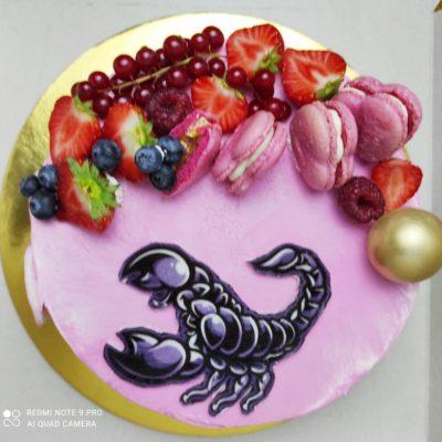 Narozeninový dort pro slečnu Štír (2 kg, 1450 kč)