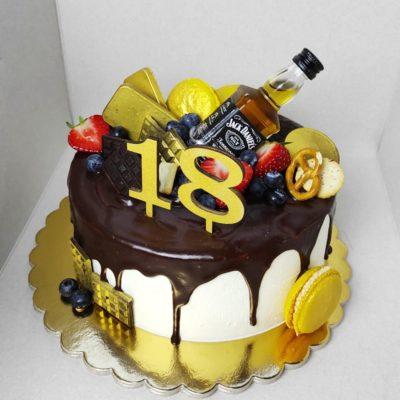 Narozeninový dort pro muže Elegance 5 (2 kg, 1450 kč)