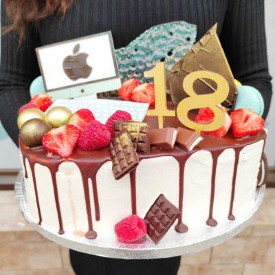 Narozeninový dort pro muže Programátor (3 kg, 1950 kč)
