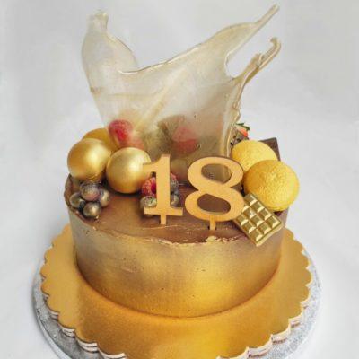 Narozeninový dort pro muže Praha Elegance 6 (1,5 kg, 1200 kč)