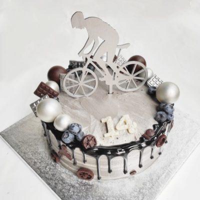 Narozeninový dort pro muže Cyklista 3 (3 kg, 1950 kč)