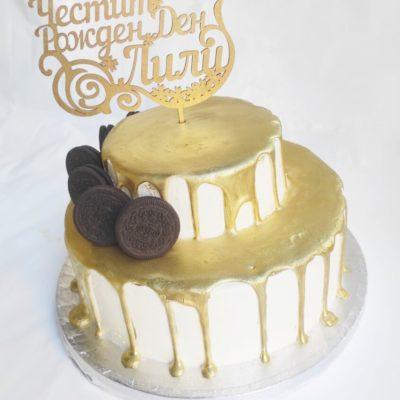 Narozeninový dort pro slečnu Love 5 (4 kg, 2500 kč)