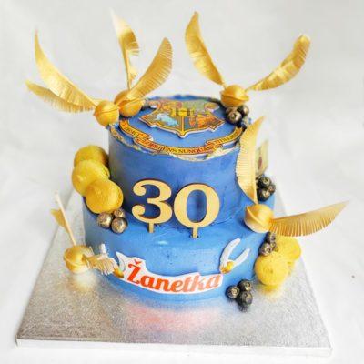 Narozeninový dort pro slečnu Harry Potter 4 (4 kg, 2500 kč)