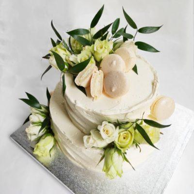Svatební dort Romance 7 (4 kg, 2500 kč)