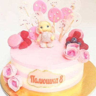 Dětský dort pro holku Čokoládový Zajíček (2 kg, 1450 kč)