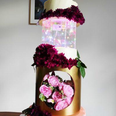 Svatební dort Show (cena na dotaz)