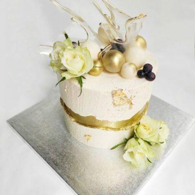 Svatební dort Romance 8 (3 kg, 1950 kč)